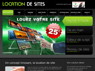 Location de sites